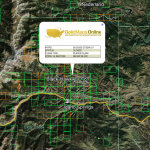 Colorado Gold Map