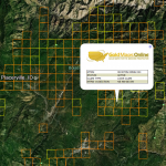 Idaho Gold Map