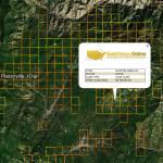 Idaho Gold Map