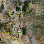 New Mexico Gold Map