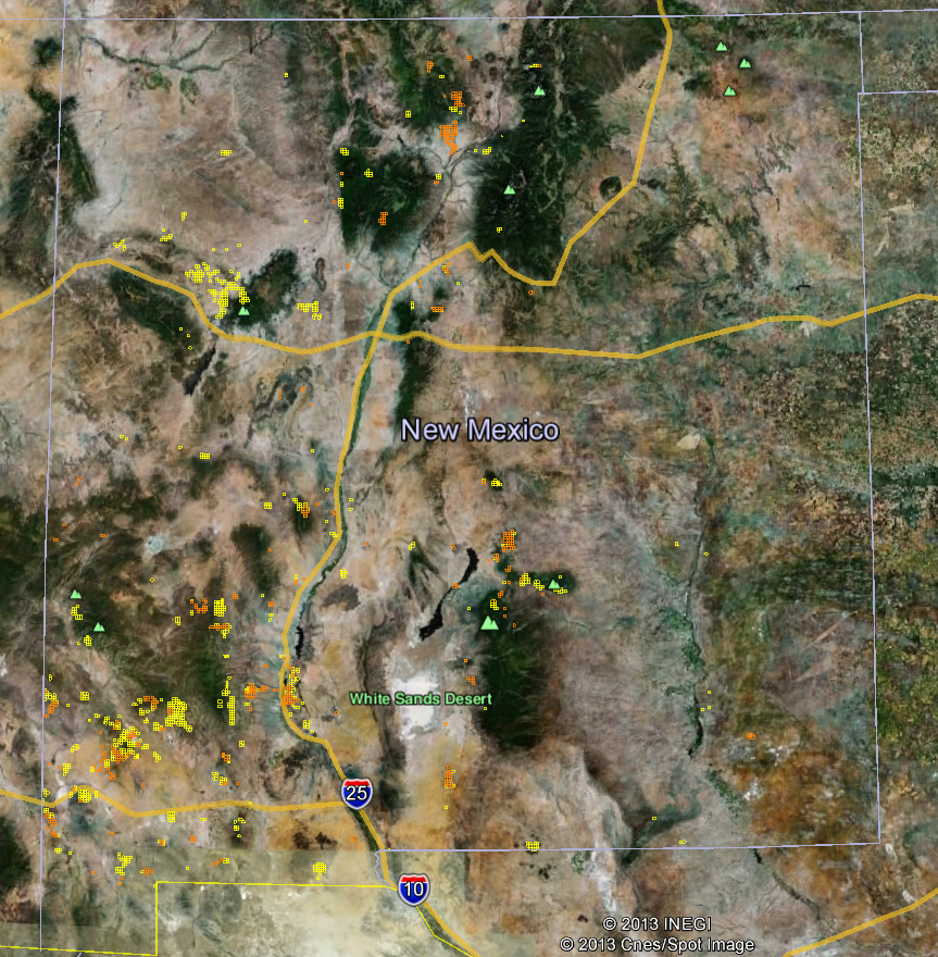 New Mexico Gold Maps Gold Claims - Maps new mexico