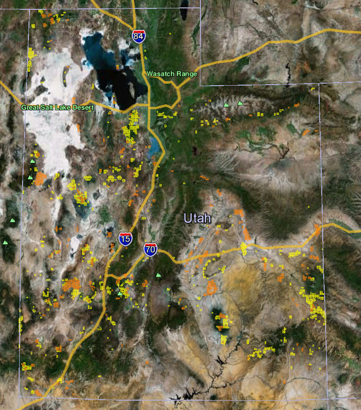 Utah Gold Maps | Gold Claims