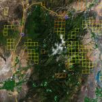 Utah Gold Map