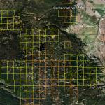 Wyoming Gold Map