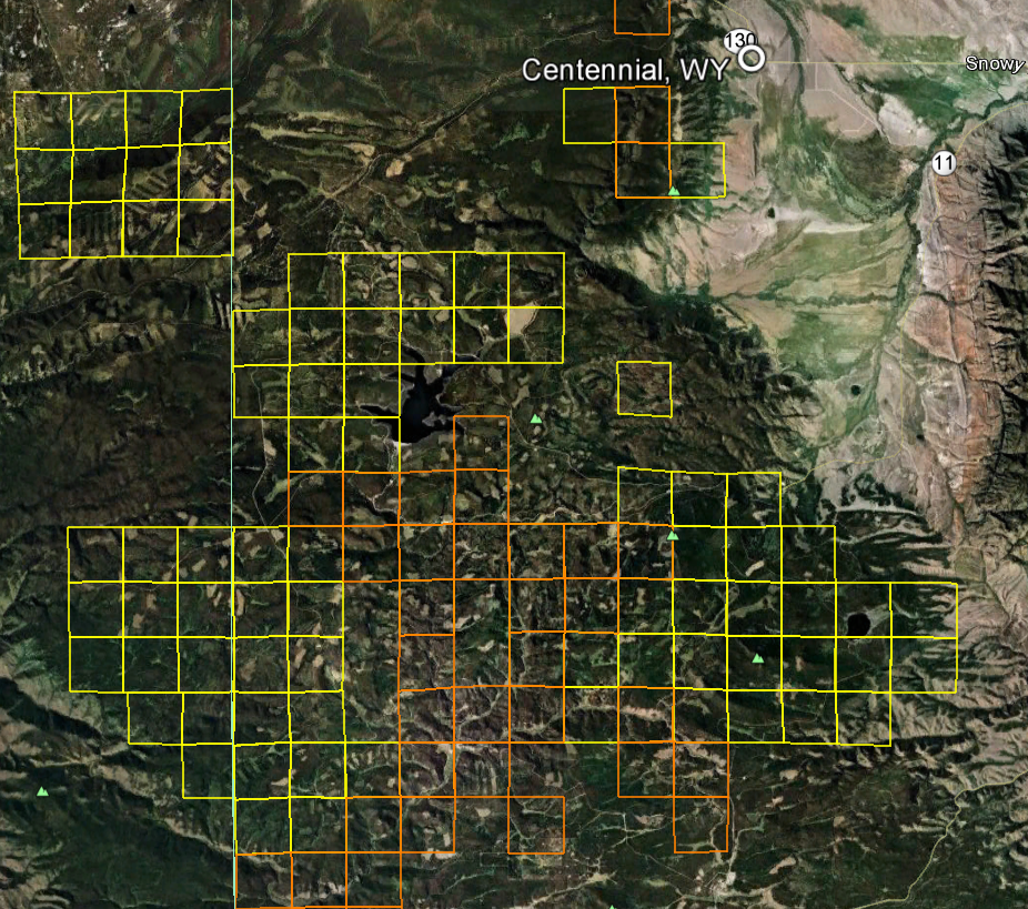 Wyoming Gold Maps Gold Claims - Maps wyoming