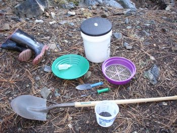 Recreational Gold Prospecting Equipment